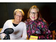 Gynekologen Annika Valentin och modejournalisten Hulda Andersson samtalar om Endometrios i podden Freja.