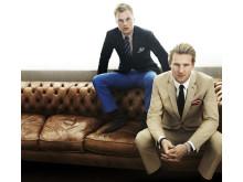 Sebastian Larson och Ola Toivonen, Brothers vårkampanj 2012