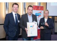 Justizzentrum Am Wall gewinnt hkk Wettbewerb Gesunde Unternehmen - Challenge 2018