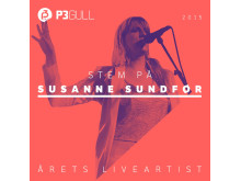 Susanne Sundør - Årets Liveartist P3 Gull 2015