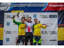 Prispallen Herrar UCI BMX World Cup