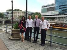 Mynewsdesk CEO visits Singapore