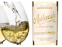 Aubrade le Prestige- fyndstämplat Bordeauxvin i två storlekar