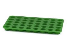 Knäckplåt grön frilagd