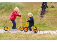 Woodwork AB - Trehjuling och sparkcykel