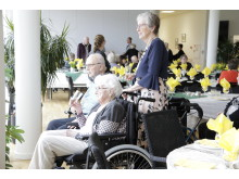 Beboere nyder synet af Langagergård Plejecenters nye Orangeri