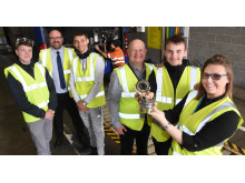 Go North East receives award from Nacro