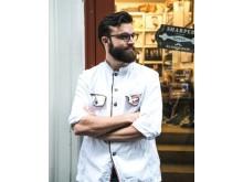 Alexander Vlajkovic Andersson, Sharper Barbershop, representerar Göteborg