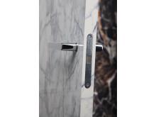 Innerdörr med marmoreffekt - BIANCO detalj