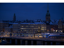 Stockholm by night 1