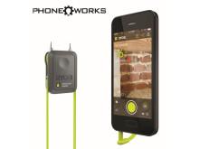 RYOBI® PHONE WORKS™ Forvandler din mobil til dit smarteste værktøj (version: RPW-3000)