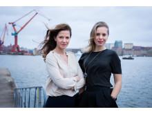 Jessica Mitrosbaras och Nataly Duyko, Female Network Forum