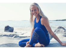 SOC x Josefines yoga. Josefine Bengtsson för SOC. Foto Stadium