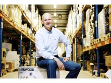 Anton Hagberg - kommersiell direktør i Komplett.no