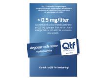 QTF Annons Helsida i Expressen 0,5 mg