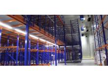 Interrolls Dynamic Storage-system fungerar också i mycket kall miljö