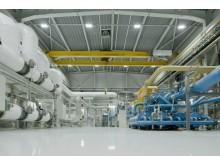 AGAs produktionsanläggning i finska Harjavalta.