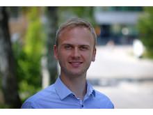 Eric Jacques, forskare vid institutionen för farkost och flygteknik på KTH. Foto: Peter Larsson.
