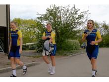Sara Penton, Frida Knutsson och Sara Mustonen, Tour of Uppsala 2019