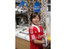 På Spies' egne Sunwing Family Resorts spiser børn mellem 0-11 år gratis, når også de voksne spiser på de populære familieresorts.