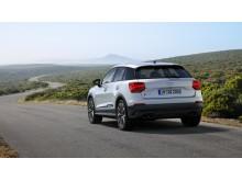 Audi SQ2 (gletscherhvid) statisk bagfra