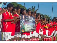Vinnarna av Mutola Cup 2013 - Academia Militar från Nampula