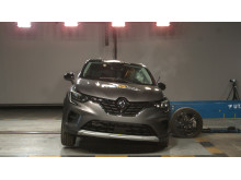 Renault Captur side crash test Dec 2019