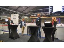 Björn Stenecker, Boliden, Robert Johansson, LKAB,  Frida Pettersson, Mandalay Resources