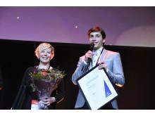 Vinnare i klassen för 15 högskolepoäng blev Nina Vesa och Humam Amouri, Örebro Universitet.