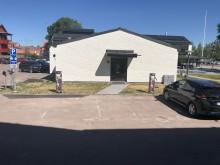 Laddplatser vid Leksands Sparbank i Leksand