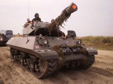 Få en køretur i en kampberedt panserjæger!