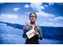 Stina Billinger talare på CSR-galan Visa vägen 2012
