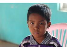 Barn i Burma