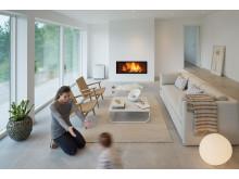 Luftrenare hemma hos barnfamiljen