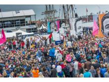 Publikrekord för Volvo Ocean Race Göteborg