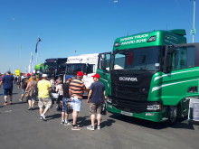 Scania beim Truck-Grand-Prix