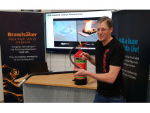 Ny utbildning ska minska riskerna vid bränder i litiumbatterier 3079x1900px