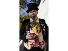 Historisk marked med fusentaster og lommetyve - på Frilandsmuseet i efterårsferien