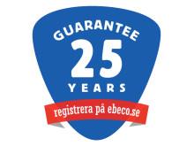Garantisymbol 25 år Ebeco