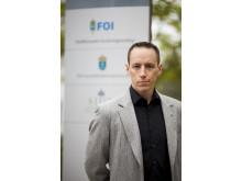 Fredrik Westerlund, säkerhetspolitisk analytiker, FOI