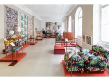 "The exhibition ""Josef Frank's world of prints"" at Salon BelleArti"