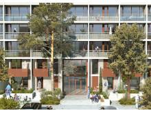 Moderniseret boligblok