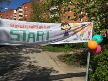 Start Barnsäkerhetens dag 2015 Barnens Montessoriakademi Solna
