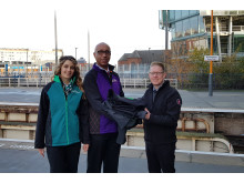 Snow Hill uniform handover