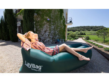 LayBag uppblåsbar soffa
