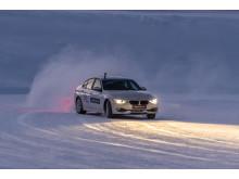 Goodyear Arctic Center_car ice circle