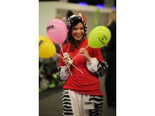 Baby & Barn 2014: BRIS åsna gick och delade ut ballonger