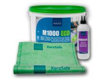 Kiilto KeraSafe-vedeneristysjärjestelmän kangas ja liimat