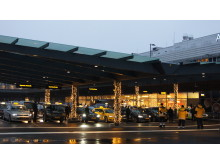 Ny taxistation på Terminal 5 på Stockholm Arlanda Airport