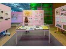 Erik Stenbergs arkiv visas I Tensta Museums filial på ArkDes